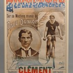 "Rare C. 1890's French poster (framed) Jean de Paleologue frame size 60 1/2″ x 44 1/2″, sight 56 1/2″ x 41″, ""Zimmerman"", artist ""Pal""."