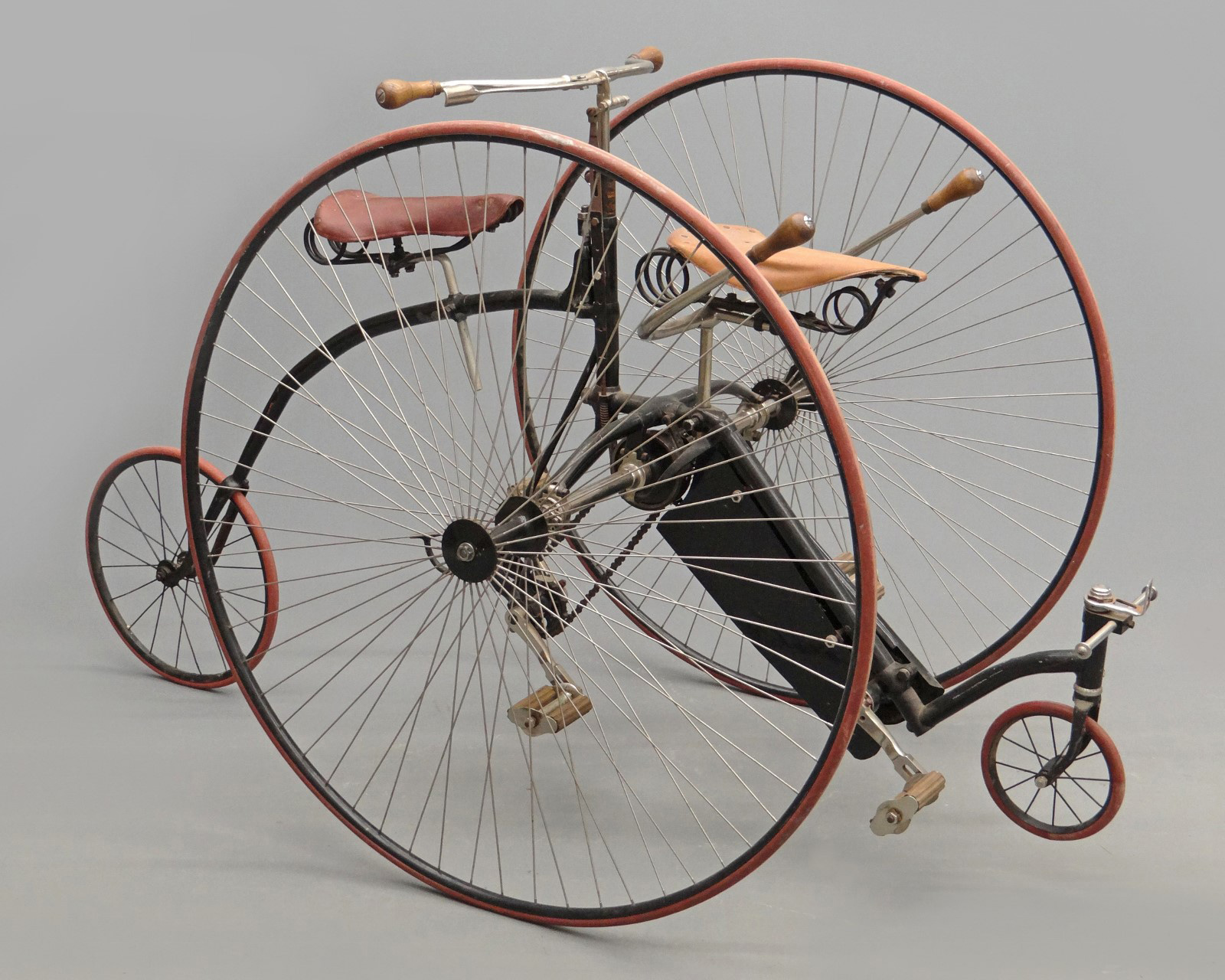 Makers Of Antique Tricycles : Th annual bicycle auction post sale results copake