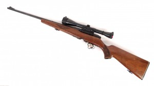 "Savage 340D .222 rifle. 43"" L. PLEASE NOTE: We will have a FFL Dealer on site, $25.00 per"