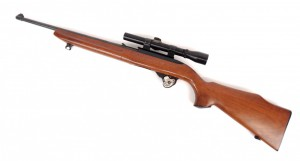 "Rugar 10/22 Carbine rifle. 37"" L. PLEASE NOTE: We will have a FFL Dealer on site, $25.00 per"