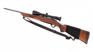 "Rugar 30.06 M77 rifle with bushnell sight. Barrel 43"" overall L. PLEASE NOTE: We will have a"